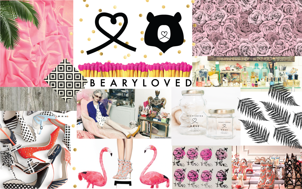 Mood Board Bearyloved Brand Identity