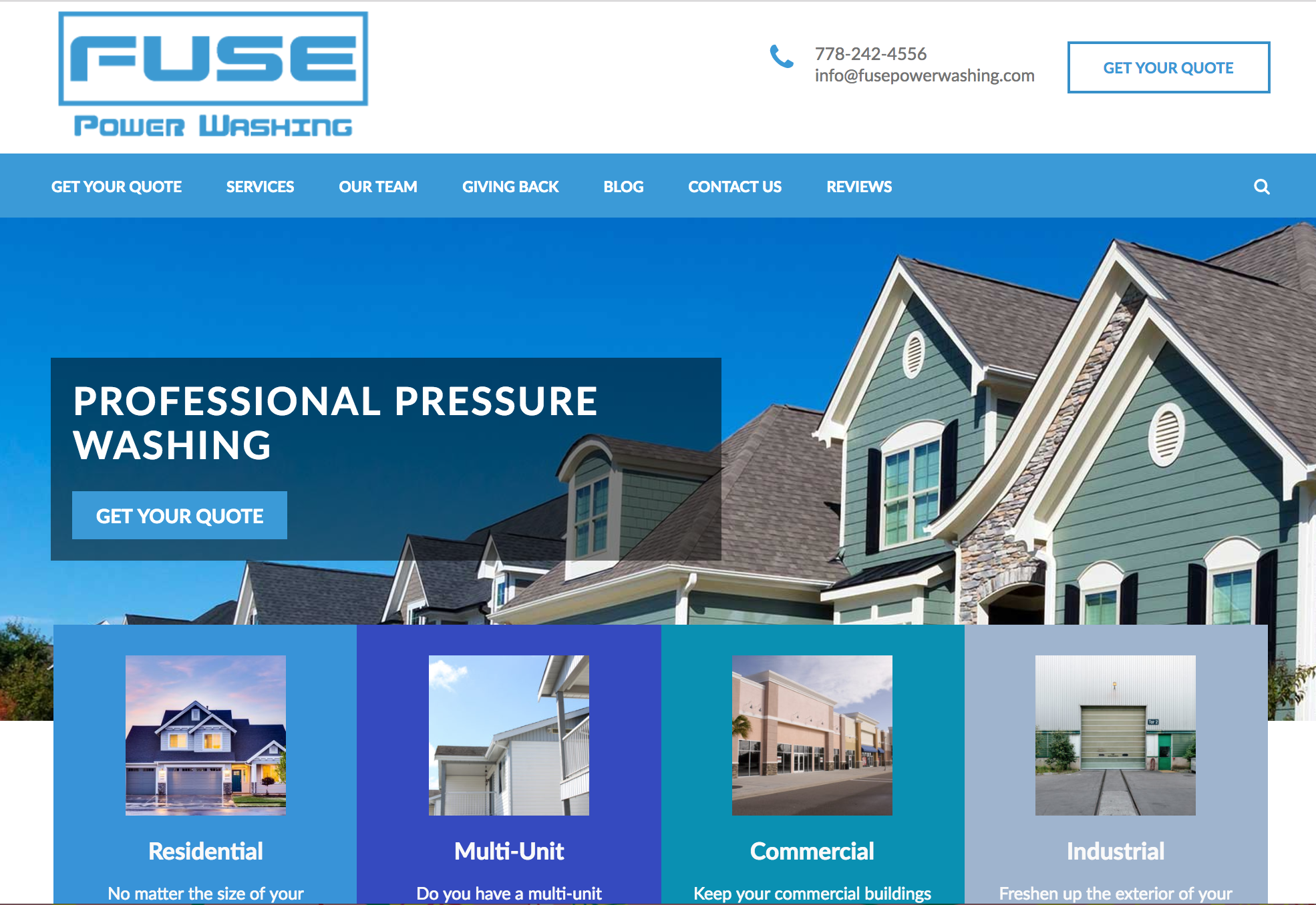 Website Fraser Valley